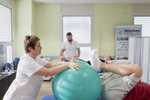 riabilitazione del ginocchio